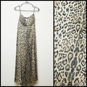 Sans Souci Dresses - Sans Souci Leopard Maxi Dress Chiffon Medium 3b04ea395